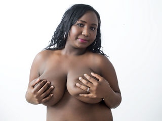 SWEETBLACKONE Marvellous Big Tits LIVE!-Face down ass up Huh