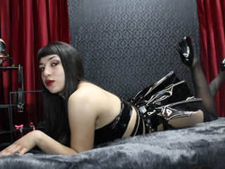 SamanthaBlackX Girl sex-Gothic Lollita with
