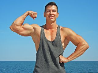 MuscularGOD Adults Only!-I Am A God , I like